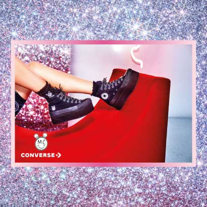 CONVERSE X MILEY CYRUS CHUCK TAYLOR ALL STAR